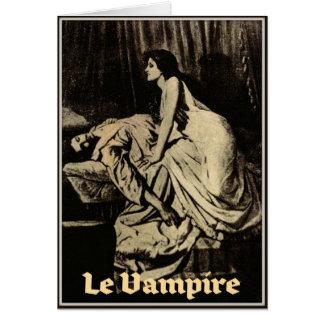 Le Vampire by Burne-Jones 1897 Greeting Card