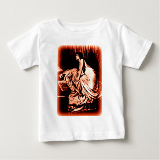 Le Vampire by Burne-Jones 1897 (RED) Baby T-Shirt