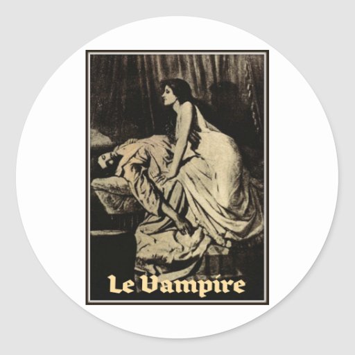 Le Vampire by Burne-Jones 1897 Stickers