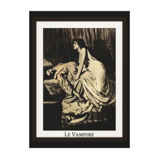 Le Vampire by Burne-Jones Stretched Canvas Print