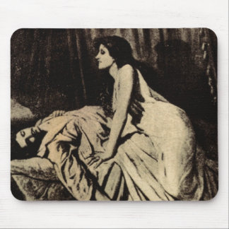 le Vampire Mouse Pads