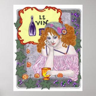 Le Vin Again Poster
