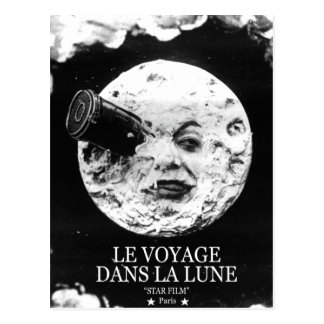Le Voyage Dans La Lune (A Trip to the Moon) Postcard
