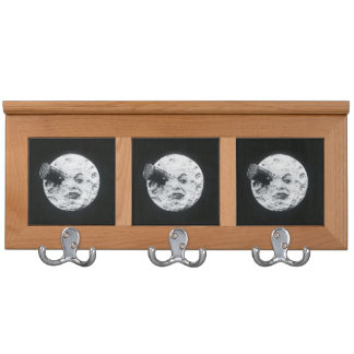 Le Voyage dans la Lune A Trip to the Moon Retro Coat Rack