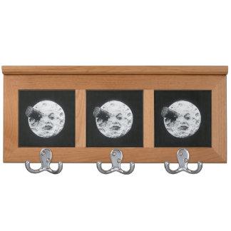 Le Voyage dans la Lune A Trip to the Moon Retro Coat Racks