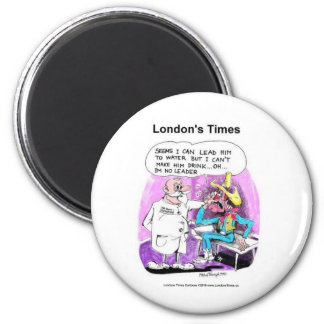 Lead Horse 2 Water Funny Tees Gifts Collectibles 6 Cm Round Magnet