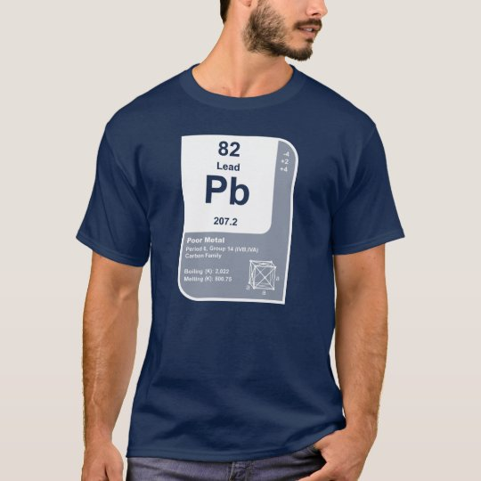Lead (Pb) T-Shirt