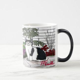 """Leada's Garden"" morphing Coffee Mug"