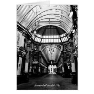 Leadenhall Market London Greeting Card