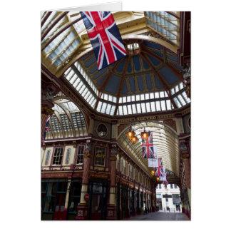 Leadenhall Market London Note Card