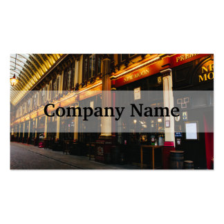 Leadenhall Market, London, United Kingdom Pack Of Standard Business Cards