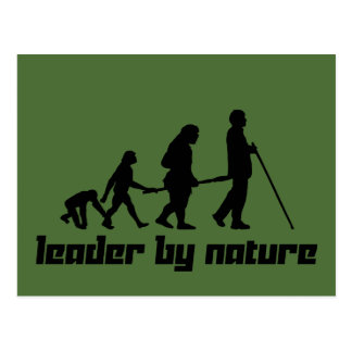 Leader by Nature Postcard
