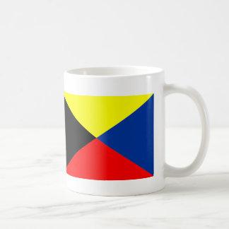 Leader flag &Z flag magnetic cup Basic White Mug