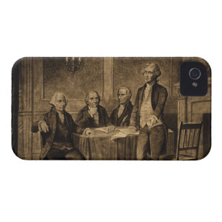 Leaders of the Continental Congress by A Tholey iPhone 4 Case-Mate Case