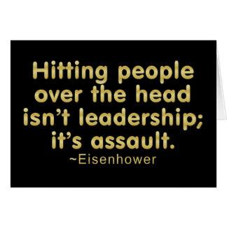 Leadership Assault Note Card