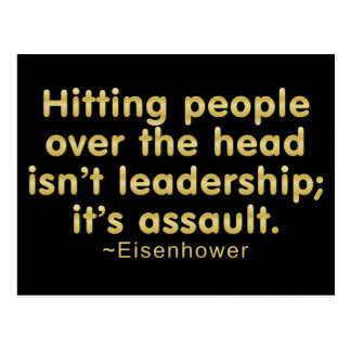 Leadership Assault Postcard