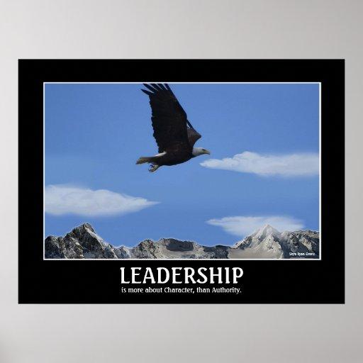 LEADERSHIP ~ Eagle Smaller Motivational Poster