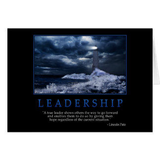 Leadership Greeting Card