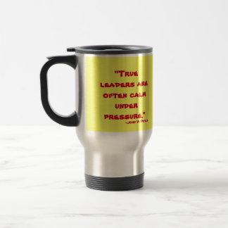 Leadership Stainless Steel Travel Mug