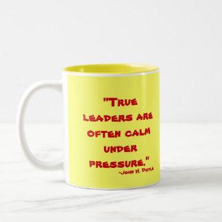 Leadership Two-Tone Coffee Mug