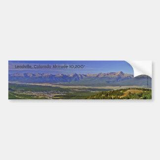 Leadville Colorado Bumper Sticker