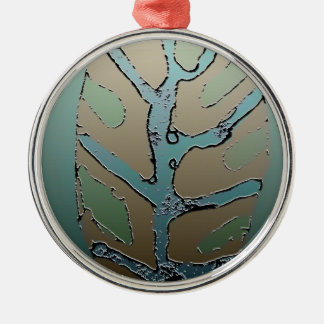 Leaf 2 christmas ornament