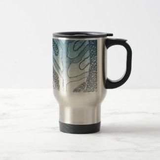 Leaf 3 stainless steel travel mug