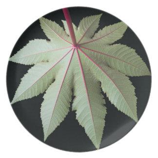 Leaf and Stem Plate