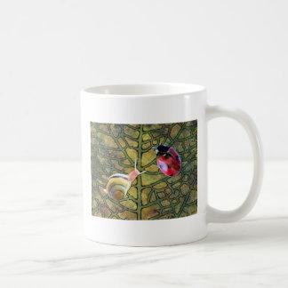 Leaf Basic White Mug