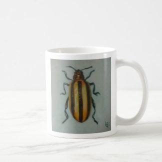 Leaf Beetle Basic White Mug