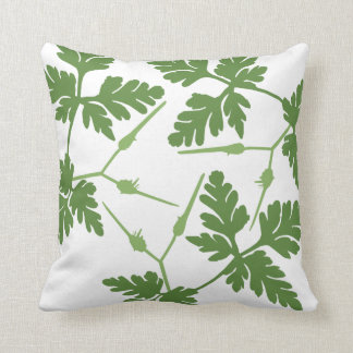 Leaf Blossom Decor#5a Modern Throw & Lumbar Pillow