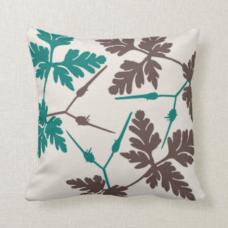 Leaf Blossom Decor#5b Modern Throw & Lumbar Pillow