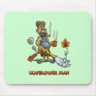 Leaf Blower Man! Mouse Mat