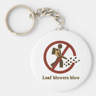 leaf blowers blow basic round button key ring