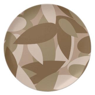 leaf camo plate