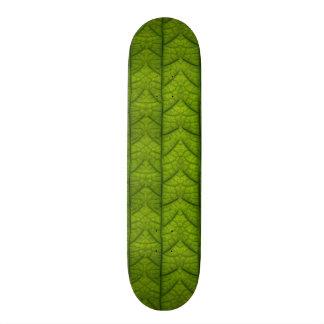 Leaf Closeup Vein Lines Photo Pattern Skate Board