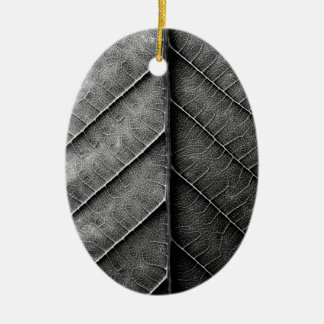 Leaf Ceramic Oval Decoration