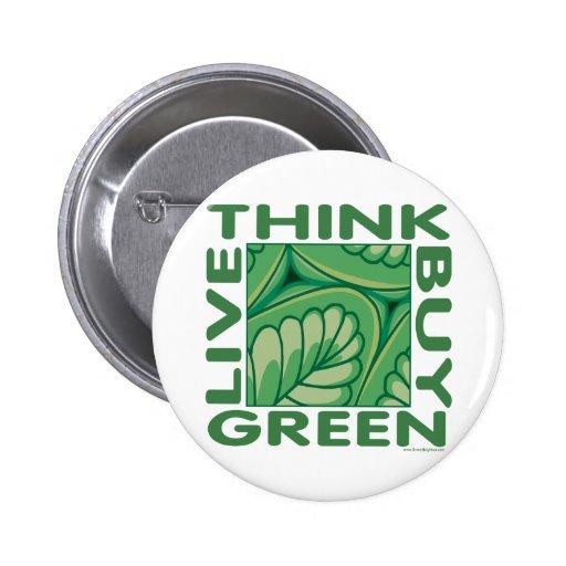 Leaf Design Button