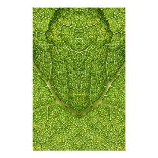 Leaf. Digital Art. 14 Cm X 21.5 Cm Flyer