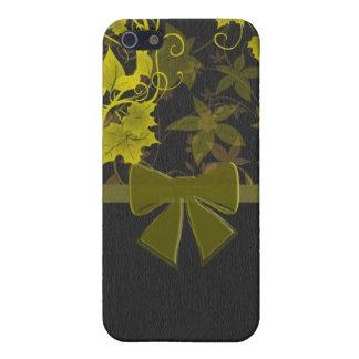 Leaf Flower Swirl iPhone 5/5S Case