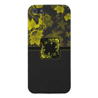 Leaf Flower Swirl iPhone 5/5S Covers