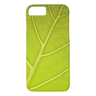 Leaf Green Close-Up Texture iPhone 7 Case
