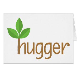 Leaf Hugger Greeting Card