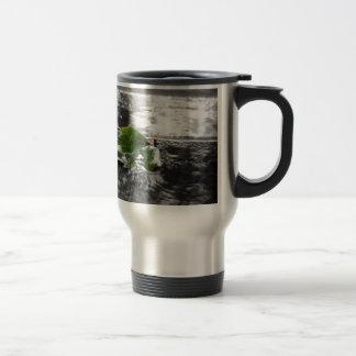 Leaf in Water Stainless Steel Travel Mug
