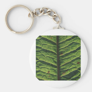 leaf.jpg basic round button key ring
