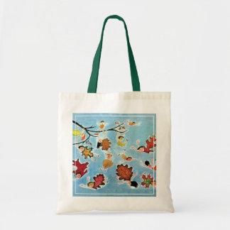 Leaf Kids Tote Bag