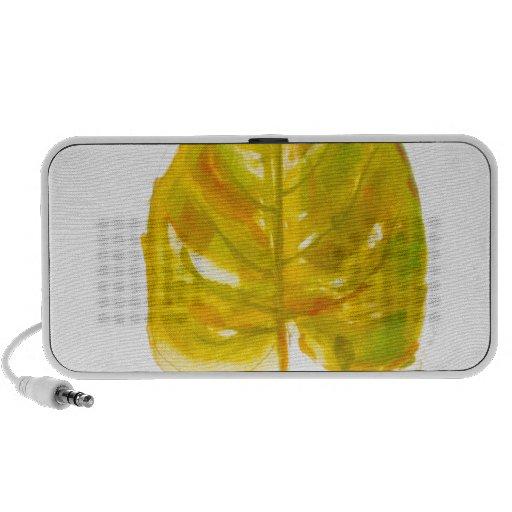 Leaf Logo Mini Speakers