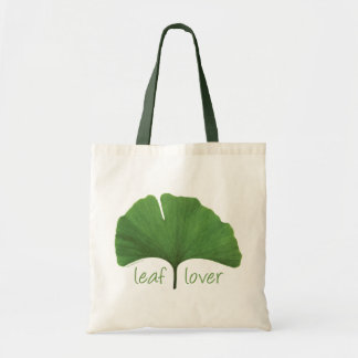 Leaf Lover Tree Hugger Budget Tote Bag