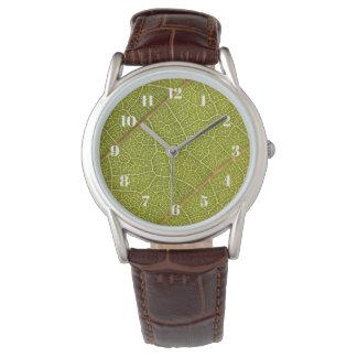 Leaf Macro Photography Watch