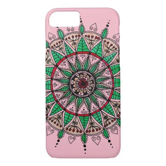 Leaf mandala iPhone 8/7 case